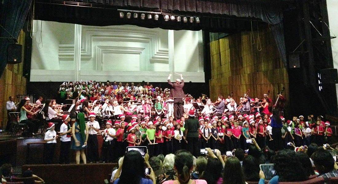 Orquesta Sinfónica de Falcón y la Coral Falcón celebran la Navidad