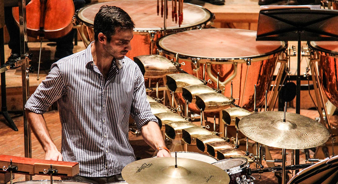 El percusionista Ramón Granda hará su debut como compositor este sábado
