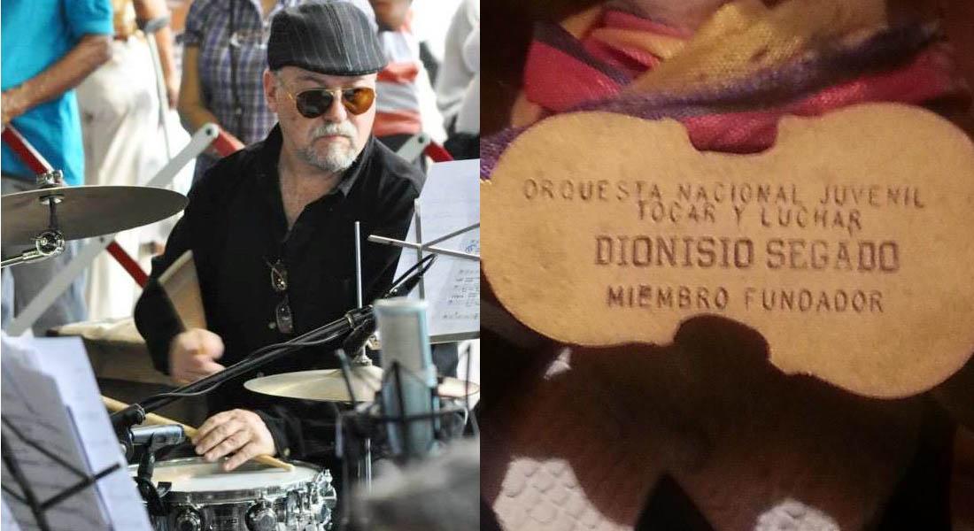 Démosle una ayuda al maestro percusionista venezolano Dionisio Segado