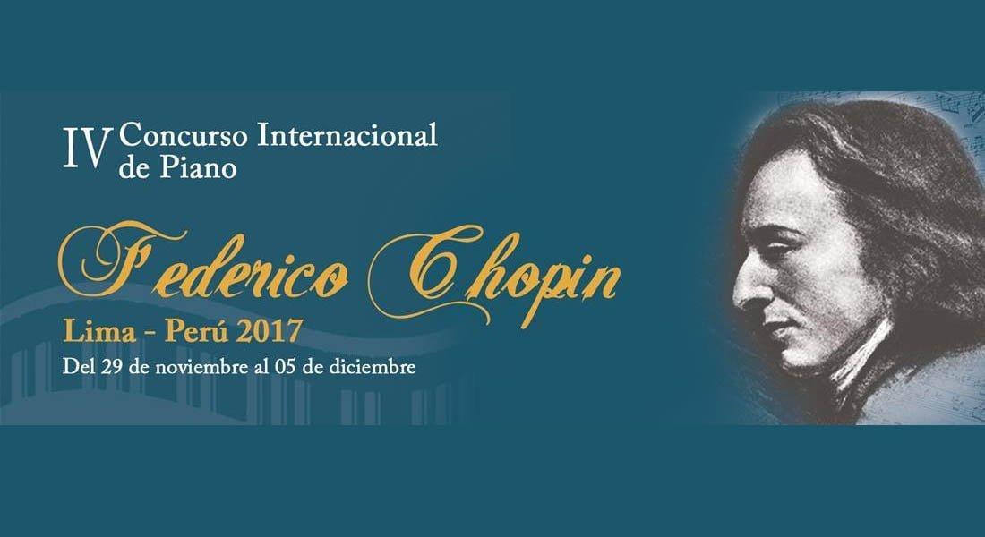 """Venezuela tiene a su representante en el IV Concurso Internacional de Piano """"Federico Chopin"""" en Lima-Perú 2017"""