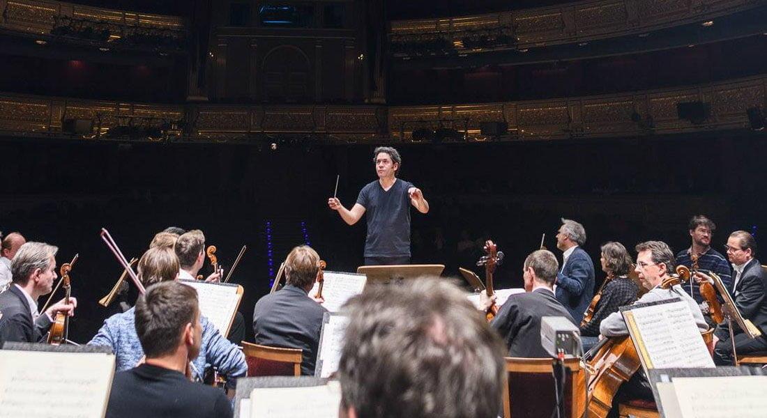 Gustavo Dudamel brilla en su debut en el Real junto a la Filarmónica de Viena