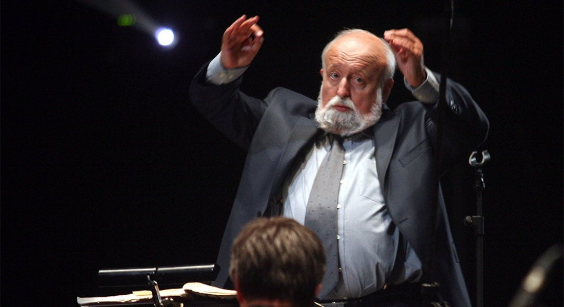 Penderecki: «Quiero ser recordado como un hombre honesto que creía en lo que hacía»