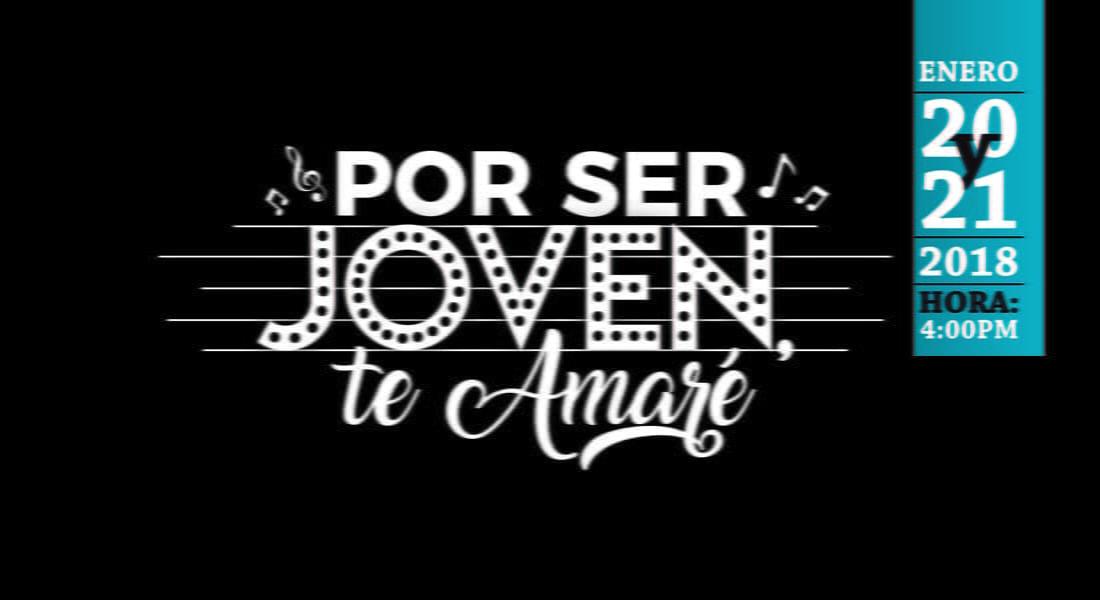"""""""Por ser joven te amaré"""", el musical, llega a las tablas de Caracas"""