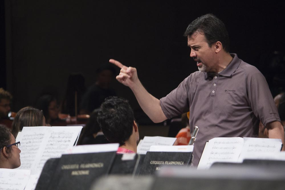 La Filarmónica y la Coral Nacional Simón Bolívar graban obras de Antonio Lauro