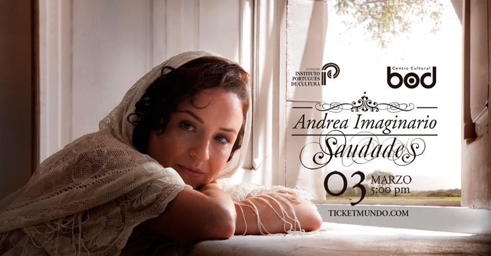 Andrea Imaginario nos sumerge en Saudades: fados y canciones en tributo a Luís de Camões