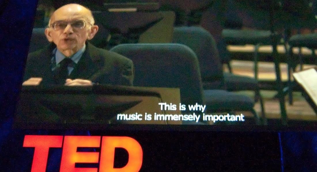 Maestro José Antonio Abreu, premio TED 2009