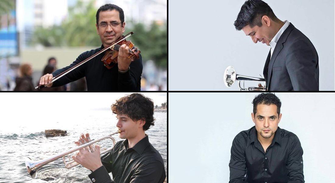 El Centro Académico de Formación Musical «Roraima» recibirá a cuatro artistas de reconocida trayectoria internacional