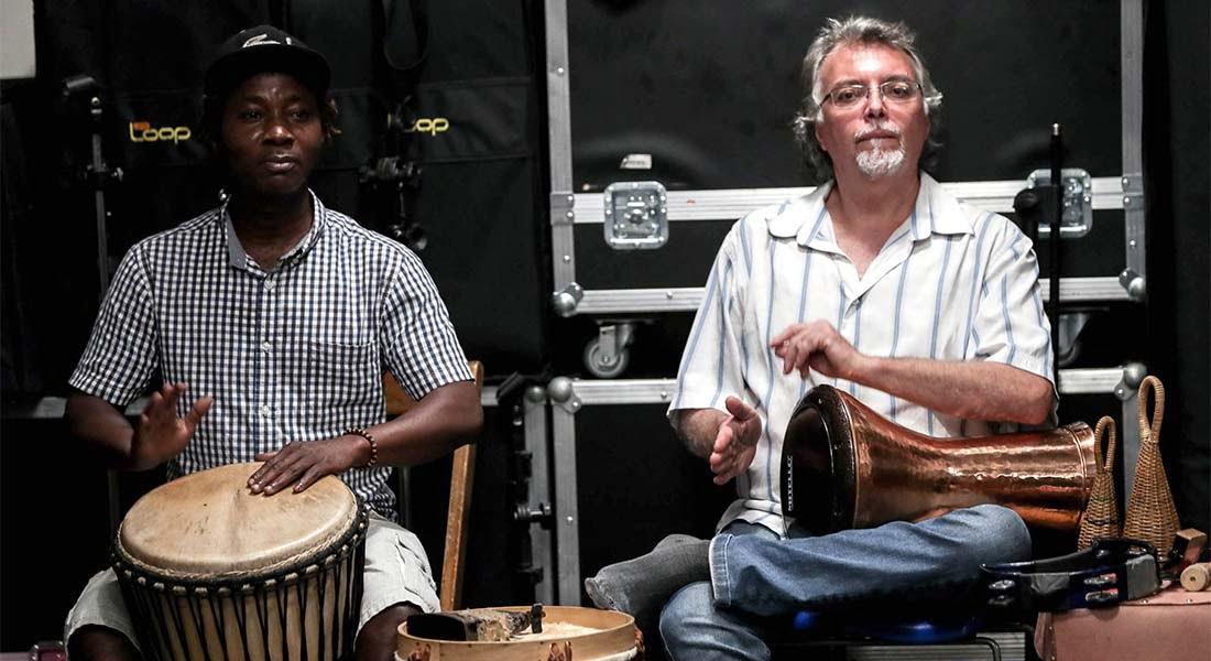 Una orquesta se convierte en el refugio de inmigrantes en Brasil