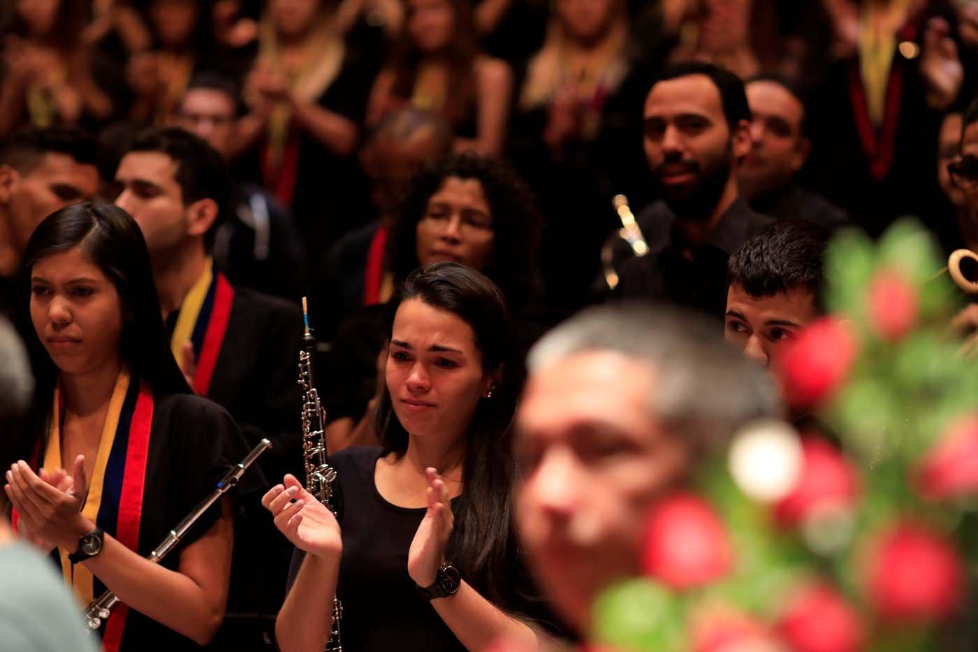 El emotivo adiós al maestro José Antonio Abreu