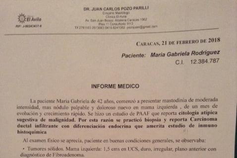 #NadieSeRinde y por María Gabriela Rodríguez menos!