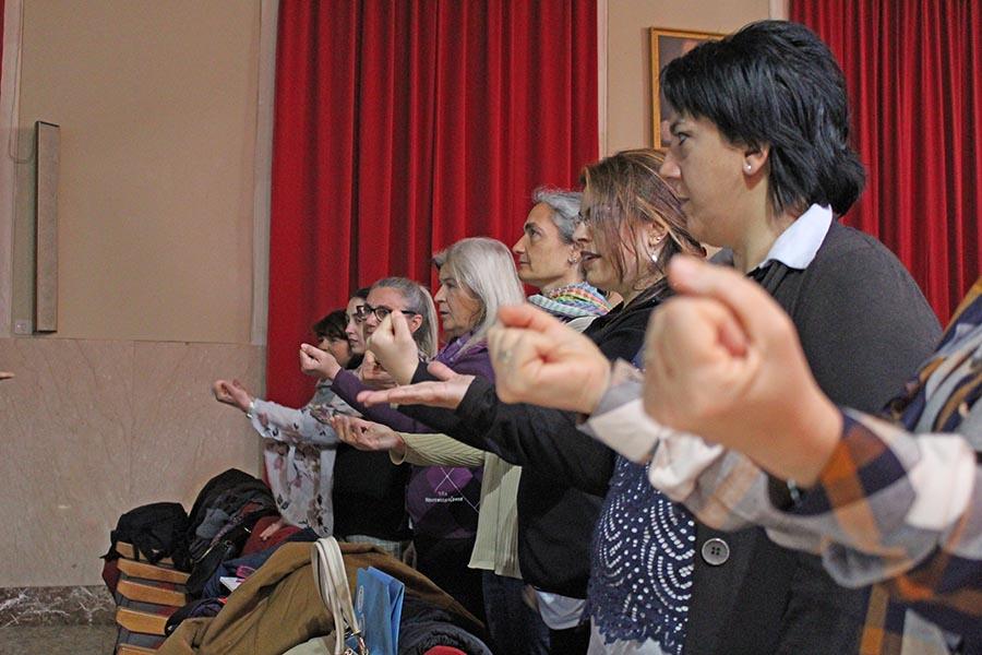 Catania estrenará su Coro de Manos Blancas