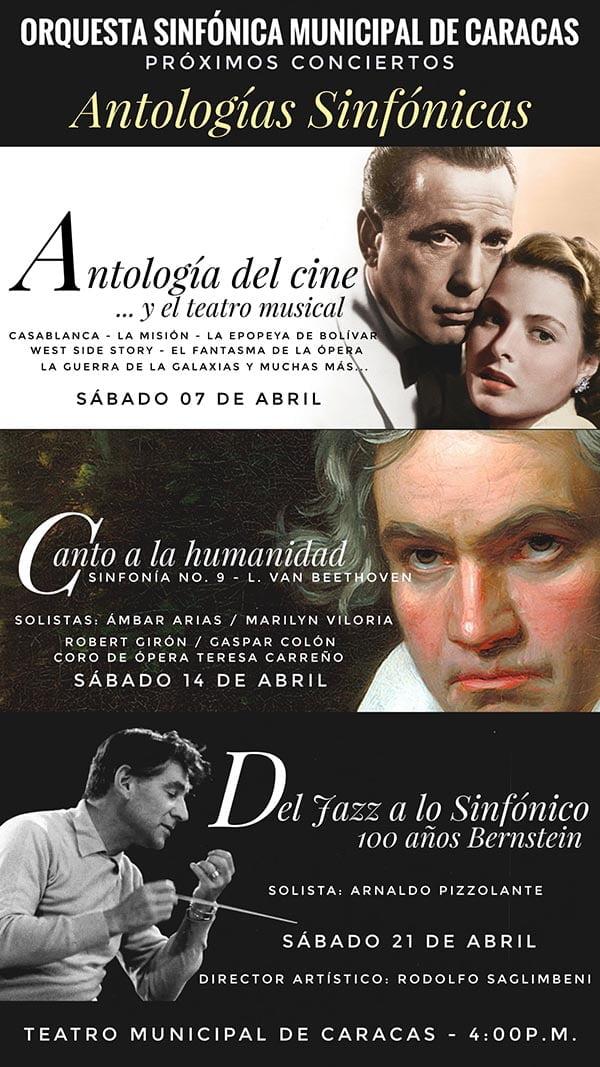 La OSMC presenta su Antología Musical del Cine y el Teatro