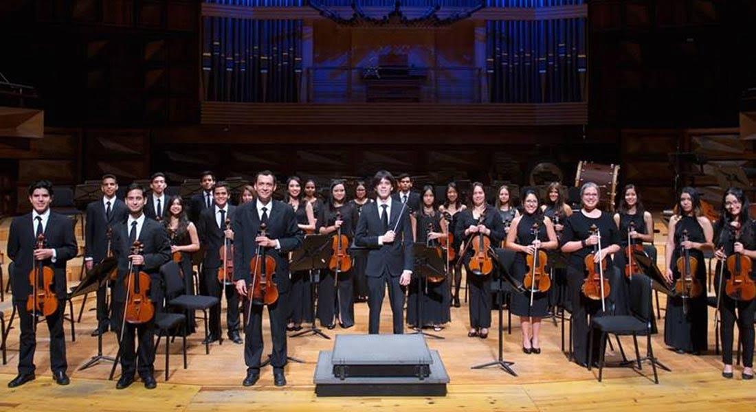 Las violas de la orquesta Ricardo Narvaez toman el Aula Magna