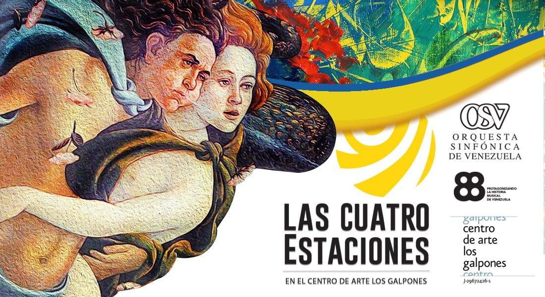 La sección de cuerdas de la Orquesta Sinfónica de Venezuela se presenta en Los Galpones