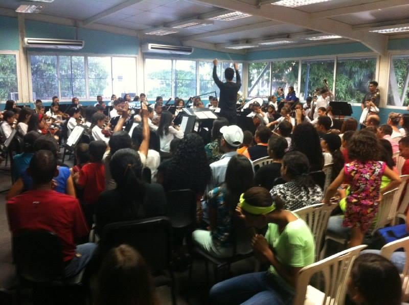 Sinfónica Juvenil de Guanare rinde homenaje al maestro José Antonio Abreu