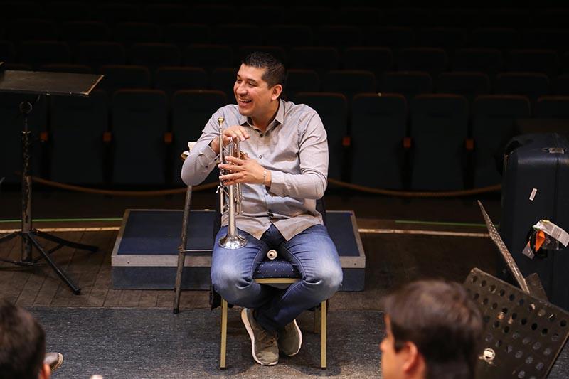 Maestros venezolanos realizaron intervención en emblemático liceo artístico de la CMDS