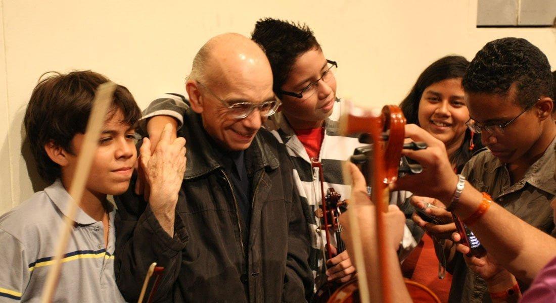 Globovisión transmitirá este 7 de mayo documental sobre la vida y obra del maestro Abreu