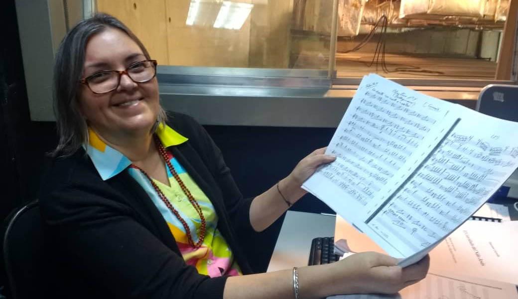 Flor Angélica Martínez: Una pieza clave entre la música interior y el lenguaje del pentagrama