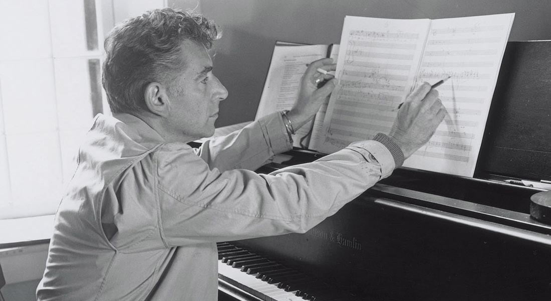 Sony Classical publica colección para piano de Leonard Bernstein