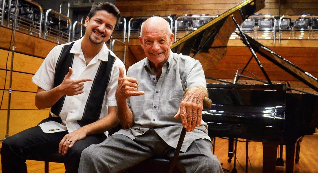El Reencuentro musical entre Baden Goyo y Gerry Weil