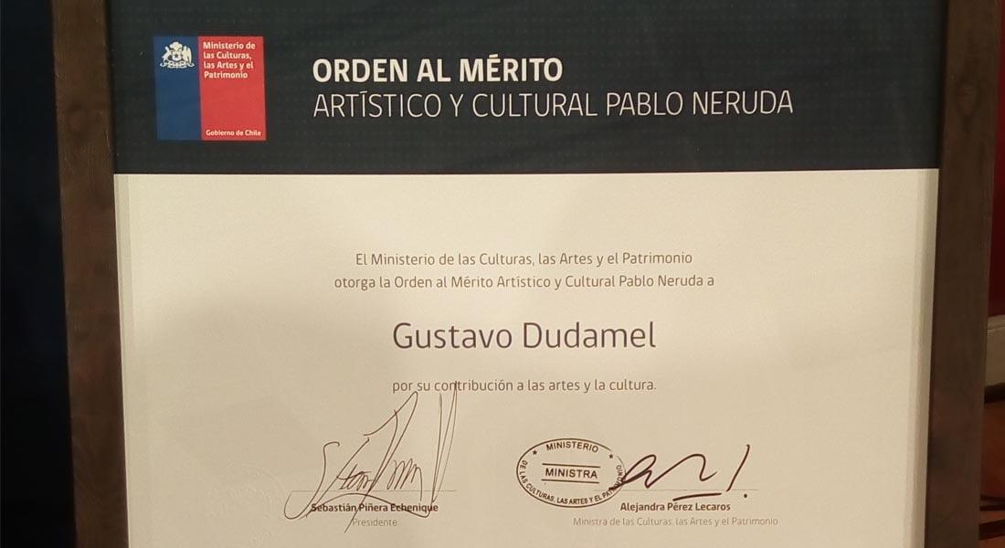 Orden al Mérito Artístico y Cultural Pablo Neruda enaltece la labor de El Sistema