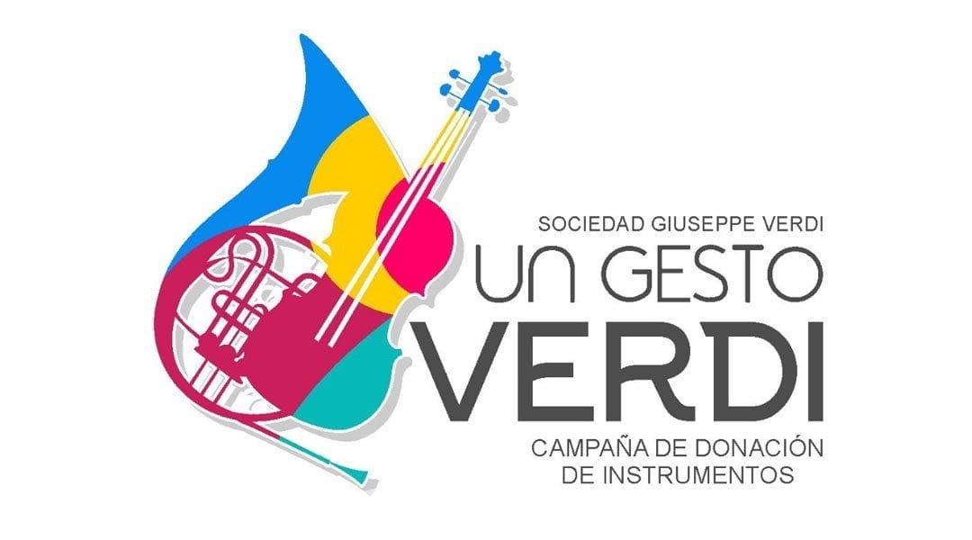 Sociedad Giuseppe Verdi inicia campaña de donación de instrumentos musicales durante El Nido Creativo
