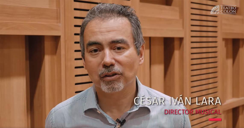 César Iván Lara debuta en el Teatro Colón de Buenos Aires