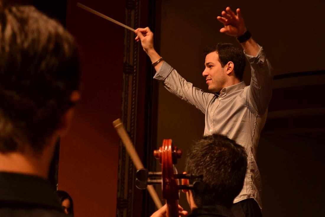 """Joshua Dos Santos busca orquestas que quieran """"construir un sonido"""" propio"""