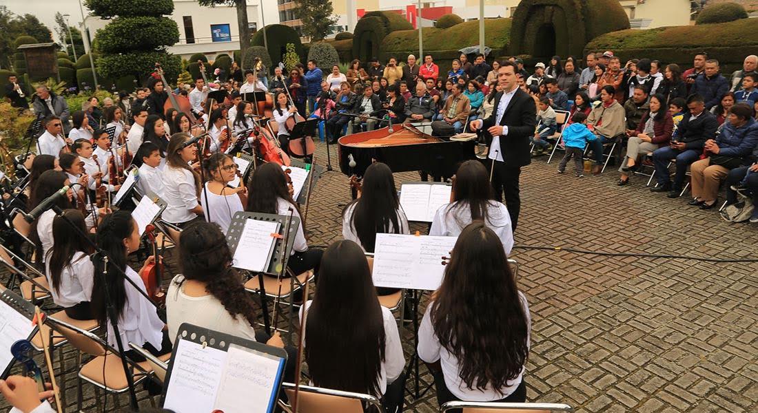 Colombia y Ecuador se unieron a través de la música de José Agustín Sánchez