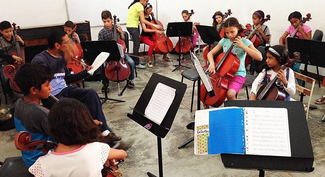 Orquesta de iniciación del Núcleo Coro culmina seminario