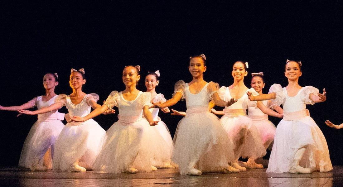 Ballet de la Mar cierra año escolar con presentaciones en el Centro de Artes Omar Carreño de La Asunción