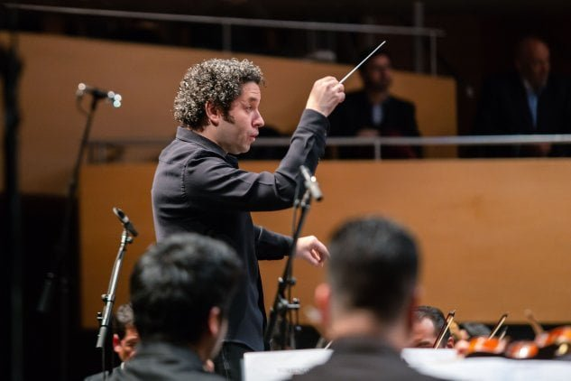 """Jóvenes se lucieron en """"A mi Maestro"""", el memorable concierto dirigido por Gustavo Dudamel y dedicado a José Antonio Abreu"""