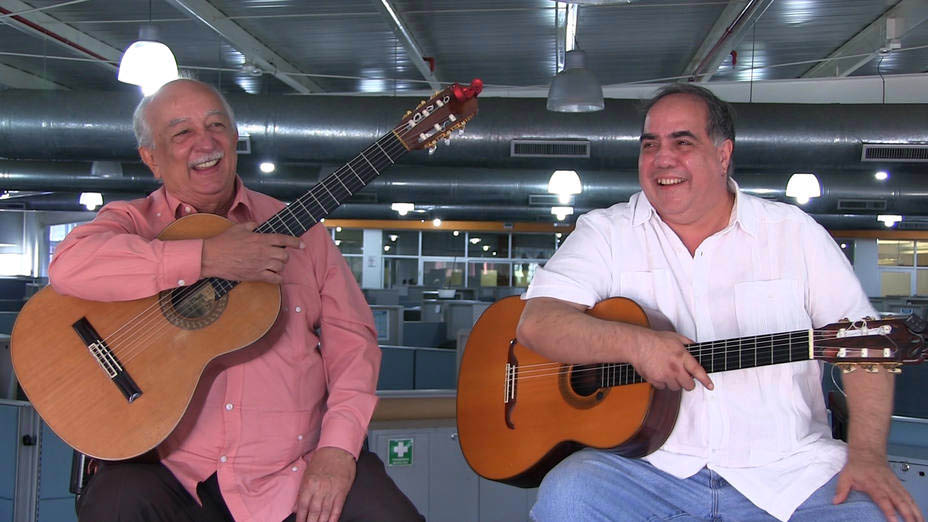 Aquiles Báez y Miguel Delgado Estévez regresan con: Dos Guitarras Por La Paz