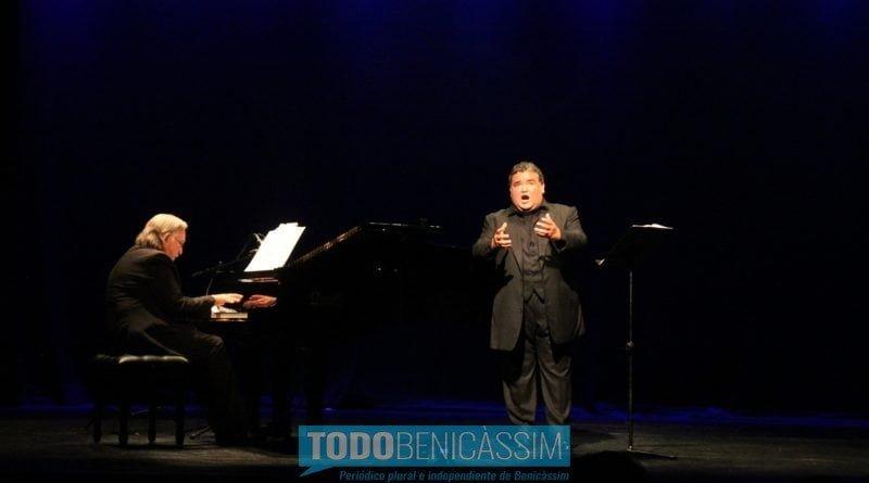 Aquiles Machado conquista al público en la segunda jornada del Festival Lírico