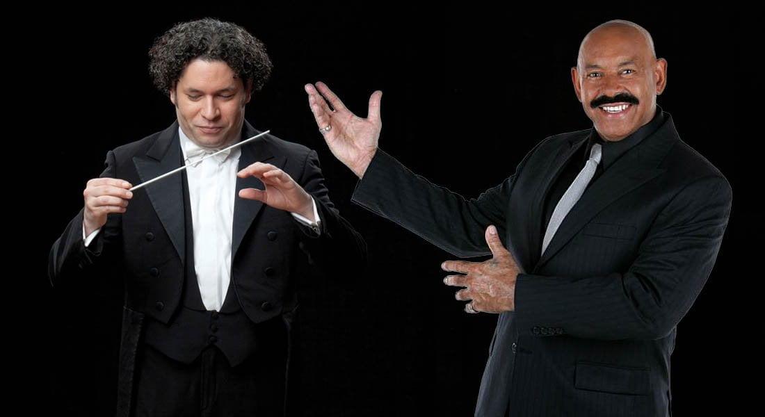 La Filarmónica de Los Ángeles a merced de un 'León' salsero