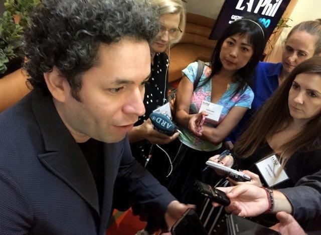 Gustavo Dudamel: El Sistema sigue adelante a pesar de la complejísima situación económica en Venezuela