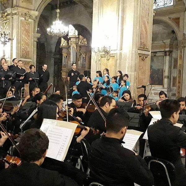 Fundación Música para la Integración inaugura el cuarto núcleo en Chile