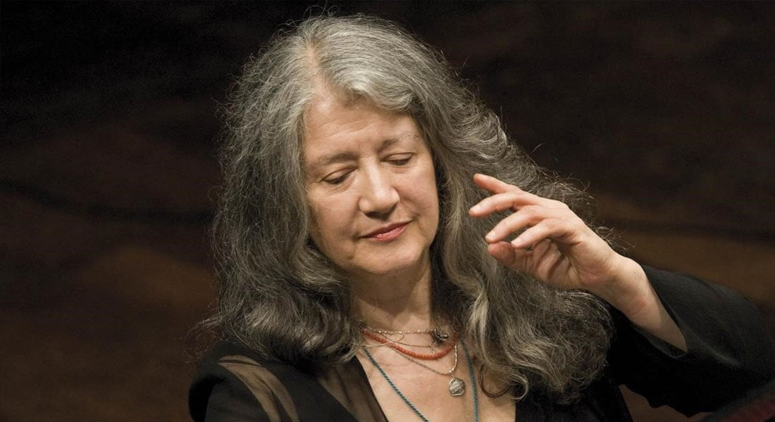 Martha Argerich abre temporada de la Filarmónica junto a Zubin Mehta