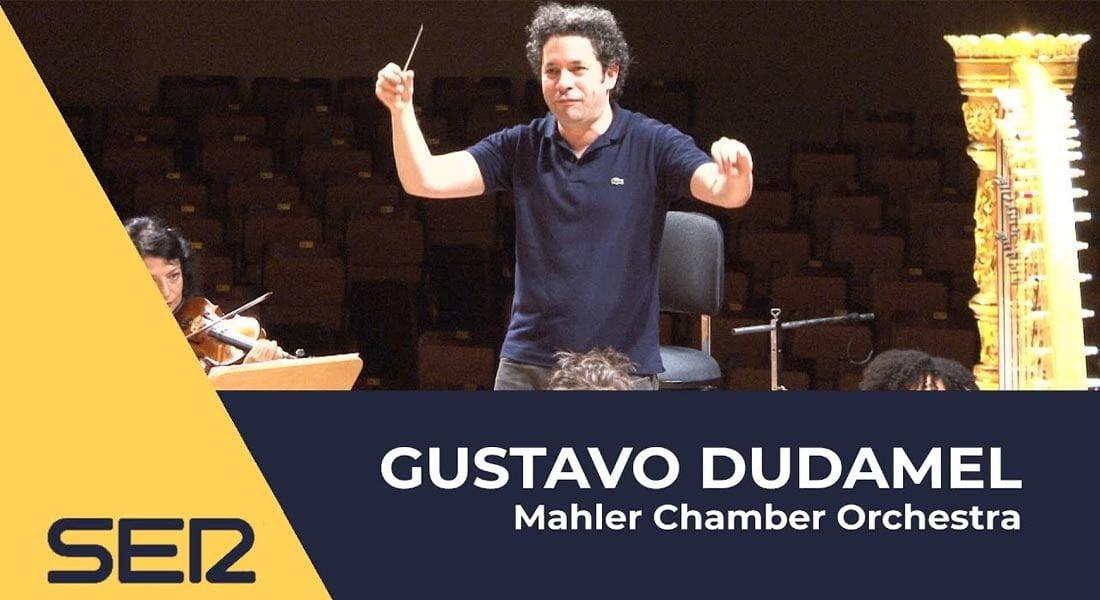 Gustavo Dudamel frente a la Mahler Chamber Orchestra (Video)