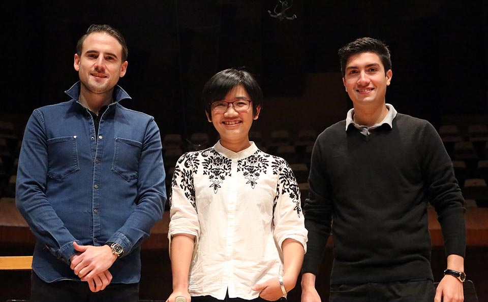 Rodolfo Bárraez entre los tres finalistas al Premio Internacional de Dirección de Orquesta OFUNAM