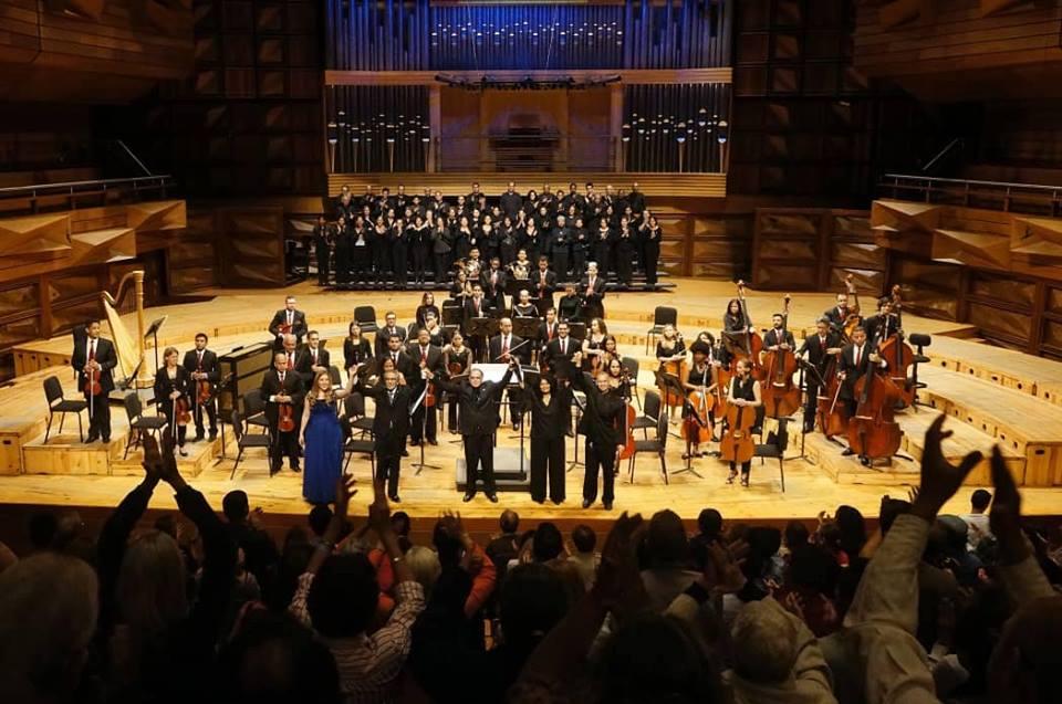 """Con el estreno de la Obra Sinfónica """"Cantos de Paz y Muerte"""" homenajearon a la pianista Rosa Briceño"""