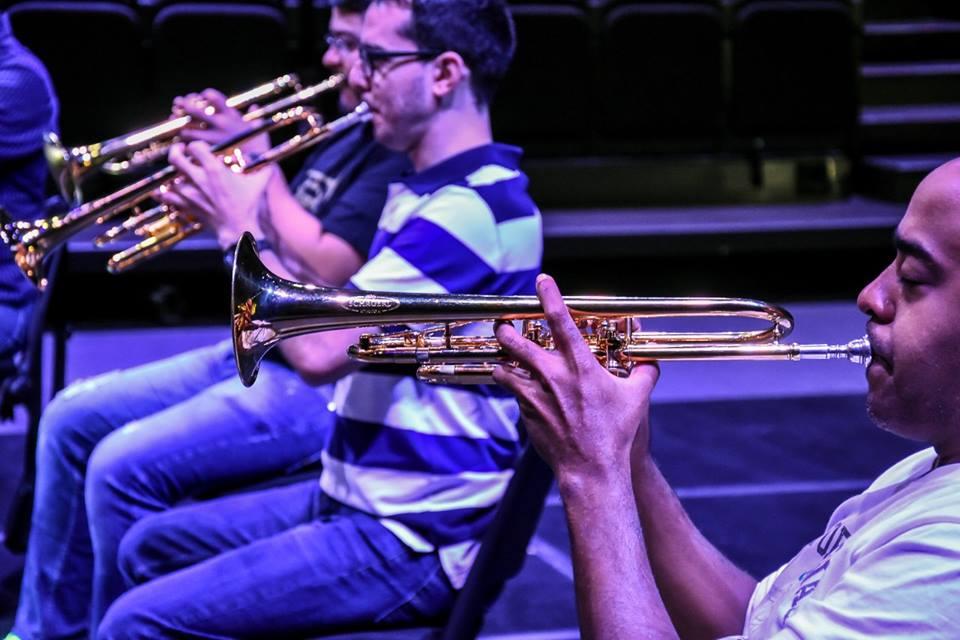 El Ensamble de Trompetas Simón Bolívar se presentó en el Conjunto de Artes Escénicas en México