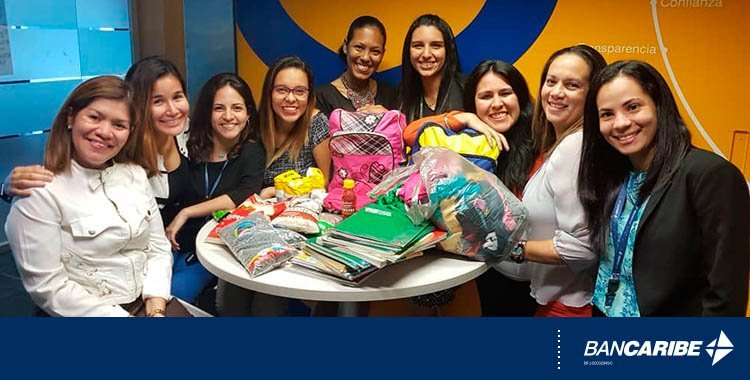 Voluntarios Bancaribe acompañaron a niños y jóvenes en su regreso a clases