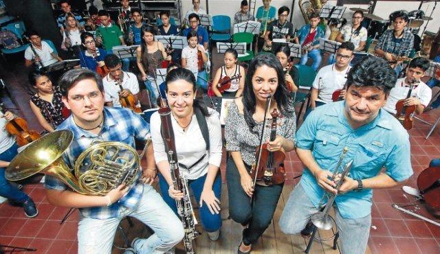 Músicos venezolanos forman parte del Conservatorio musical sin fronteras en Colombia