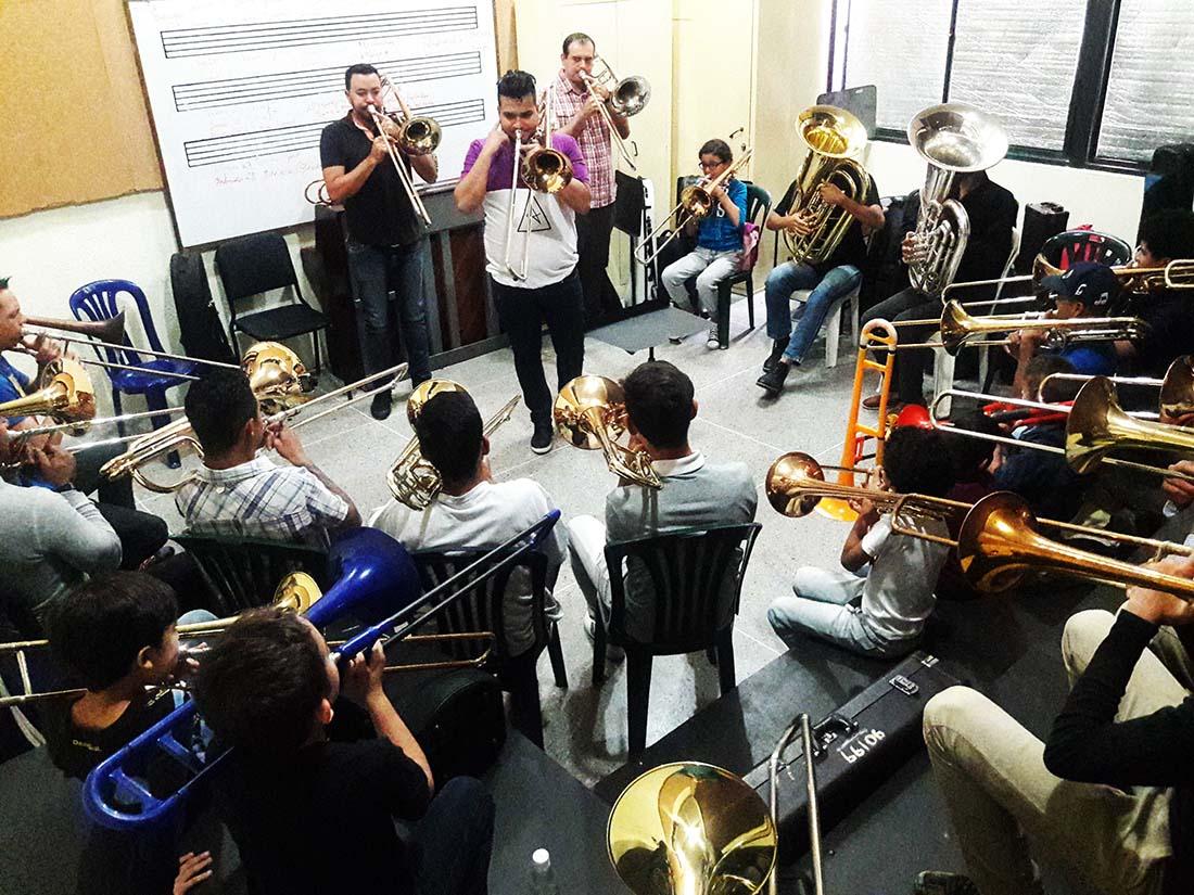 Primer Festival de Trombón en Caracas estará dedicado al maestro José Antonio Abreu