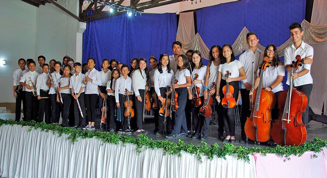 La Orquesta Sinfónica Infantil y Juvenil del Núcleo Ejido celebra su 9no aniversario