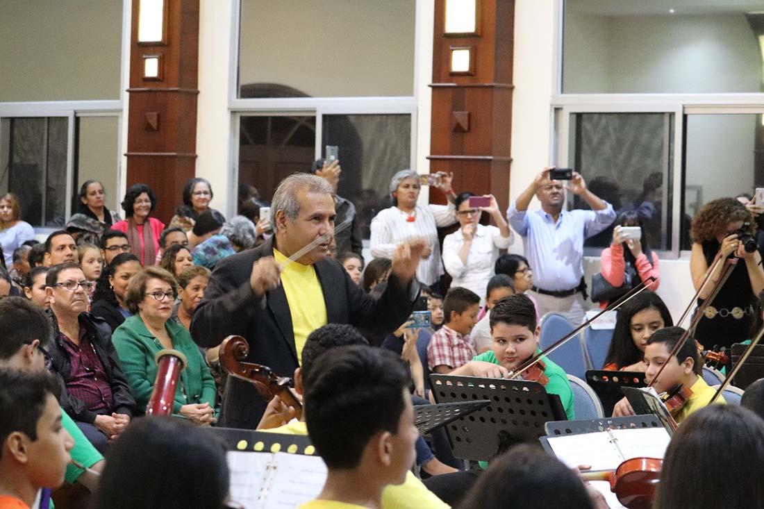 Coro de Manos Blancas Honduras es ya una realidad en San Pedro Sul