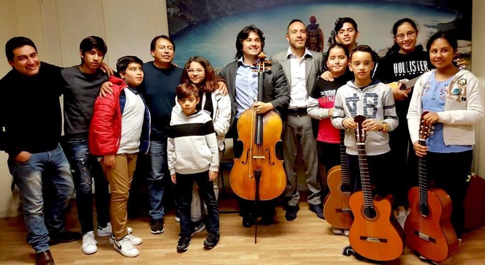 Diego Carneiro: «Queremos acabar con la xenofobia a través de la música»