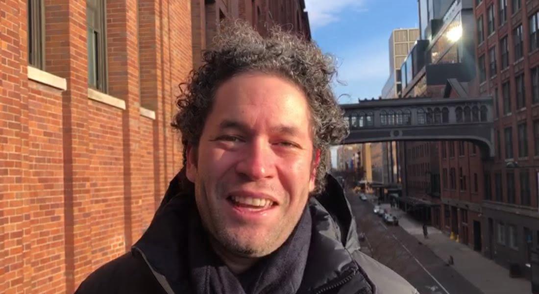 Gustavo Dudamel: Un especial saludo navideño