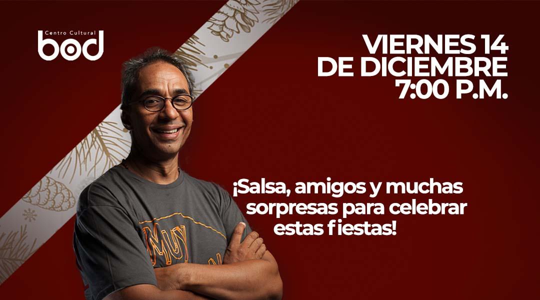 El swing de Alfredo Naranjo suena en diciembre con Navidad Guajeo